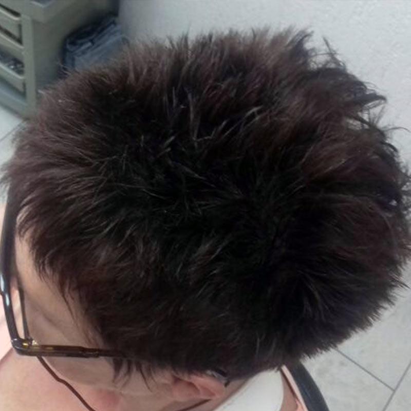 Žensko kratko šišanje